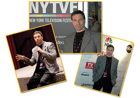 Tom Zanca at the New York Television Festival where his original TV pilot,